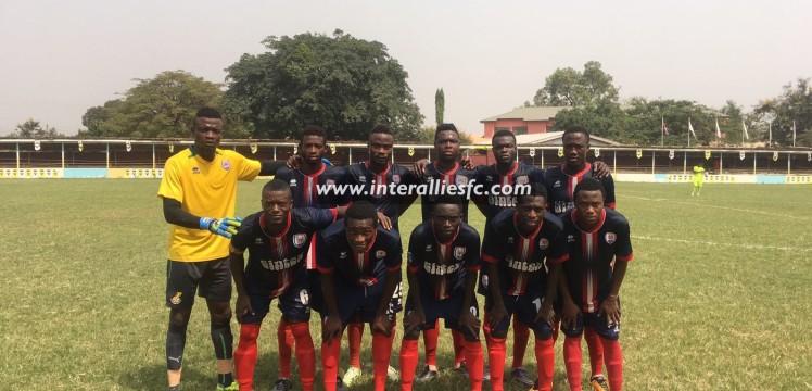 Inter Allies hand Bechem United 3-1 defeat in pre-season friendly