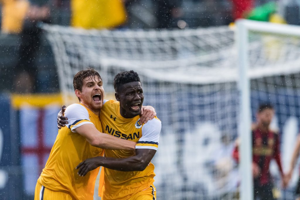Ropapa Mensah scores for Nashville SC again