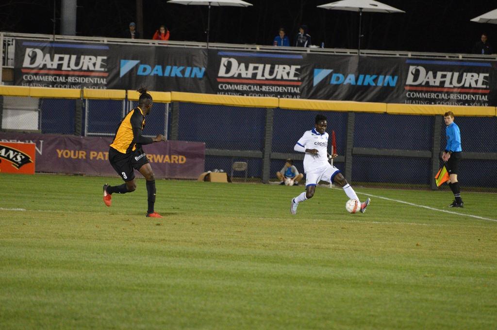Fredrick Opoku Yamoah shines in Penn FC win