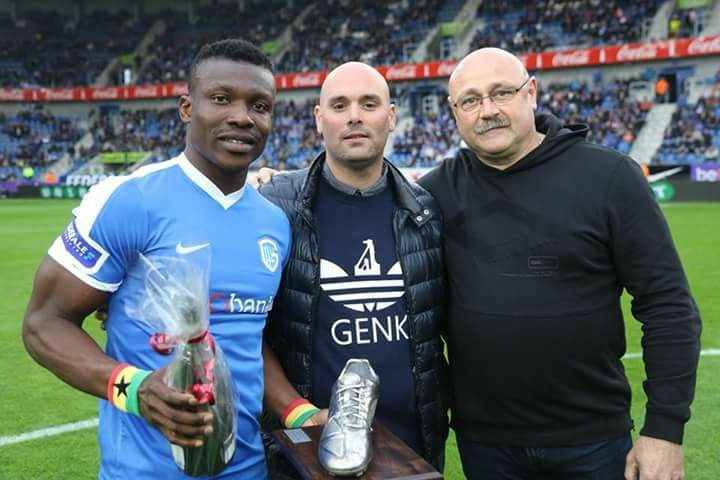 Joseph Aidoo named KRC Genk's second best player