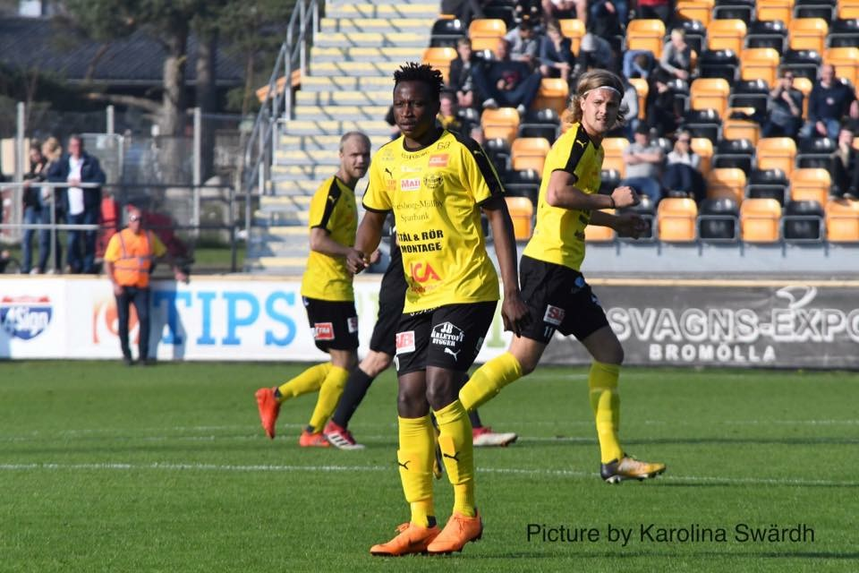Prosper Kasim – the star man in Mjällby win