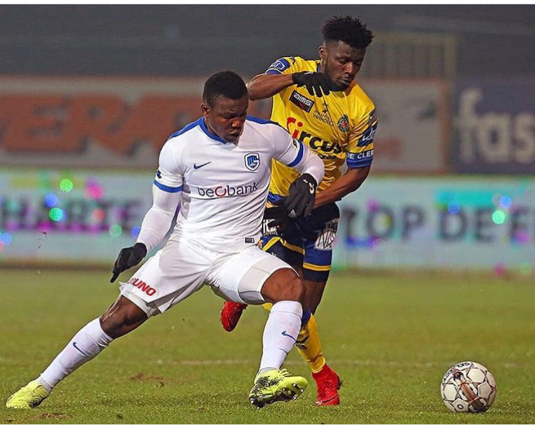 Joseph Aidoo stars in Genk's League win