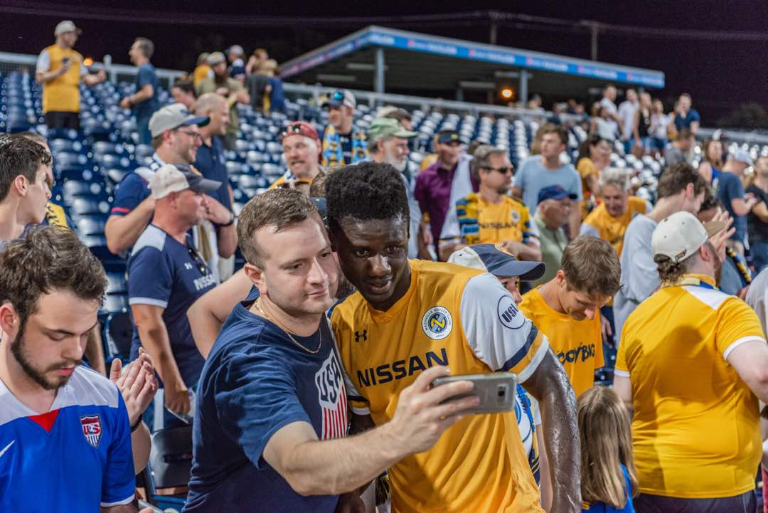 Ropapa Mensah bags assist in Nashville win