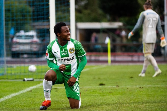 Abdul Halik Hudu nets brace for Hammarby U-21