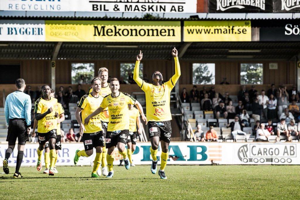 Prosper Kasim bags brace and assist for Mjällby