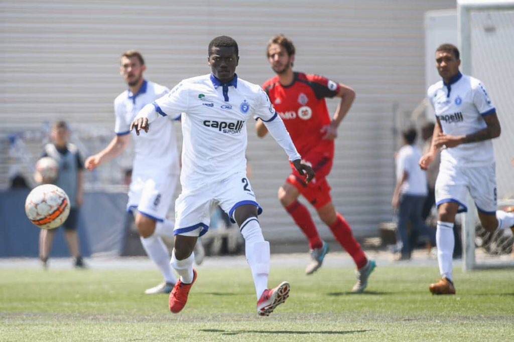 Prince Baffoe features in Penn FC's home loss