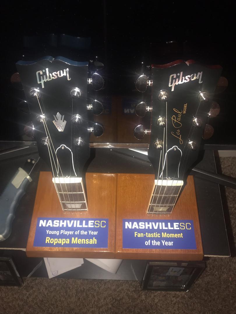 Ropapa bags two accolades at Nashville's awards night