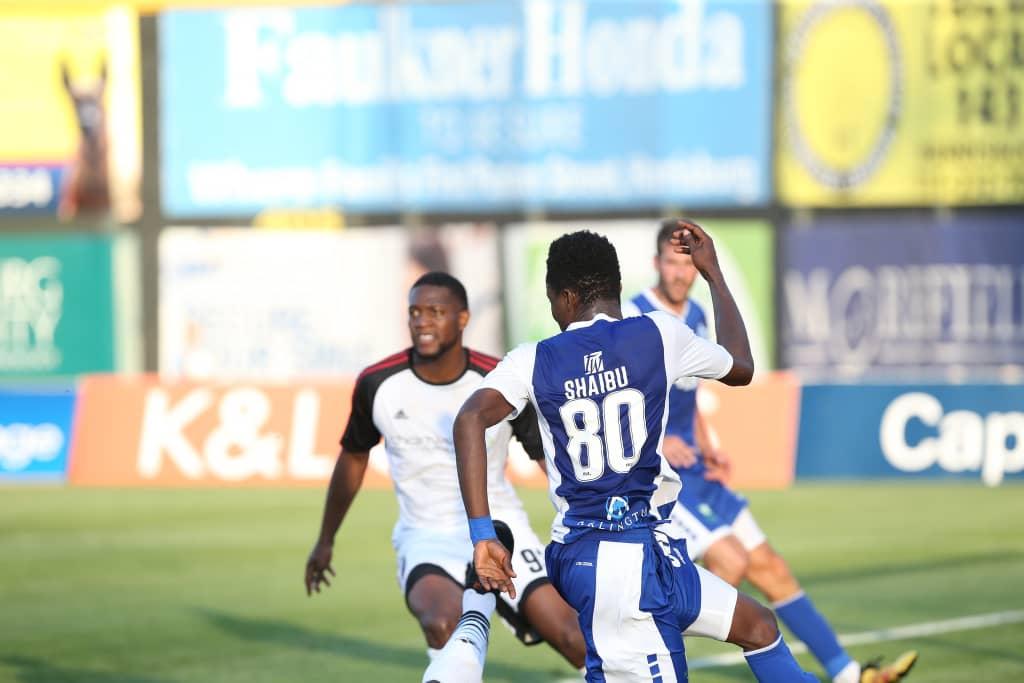 Shaibu, Baffoe feature in final game of the season for Penn FC