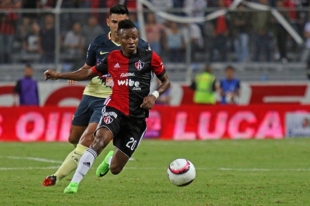 Clifford Aboagye gets assist in Atlas' win