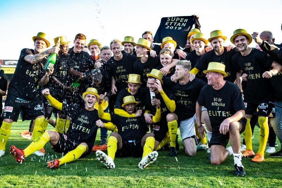 Kasim secures Superettan promotion with Mjällby AIK