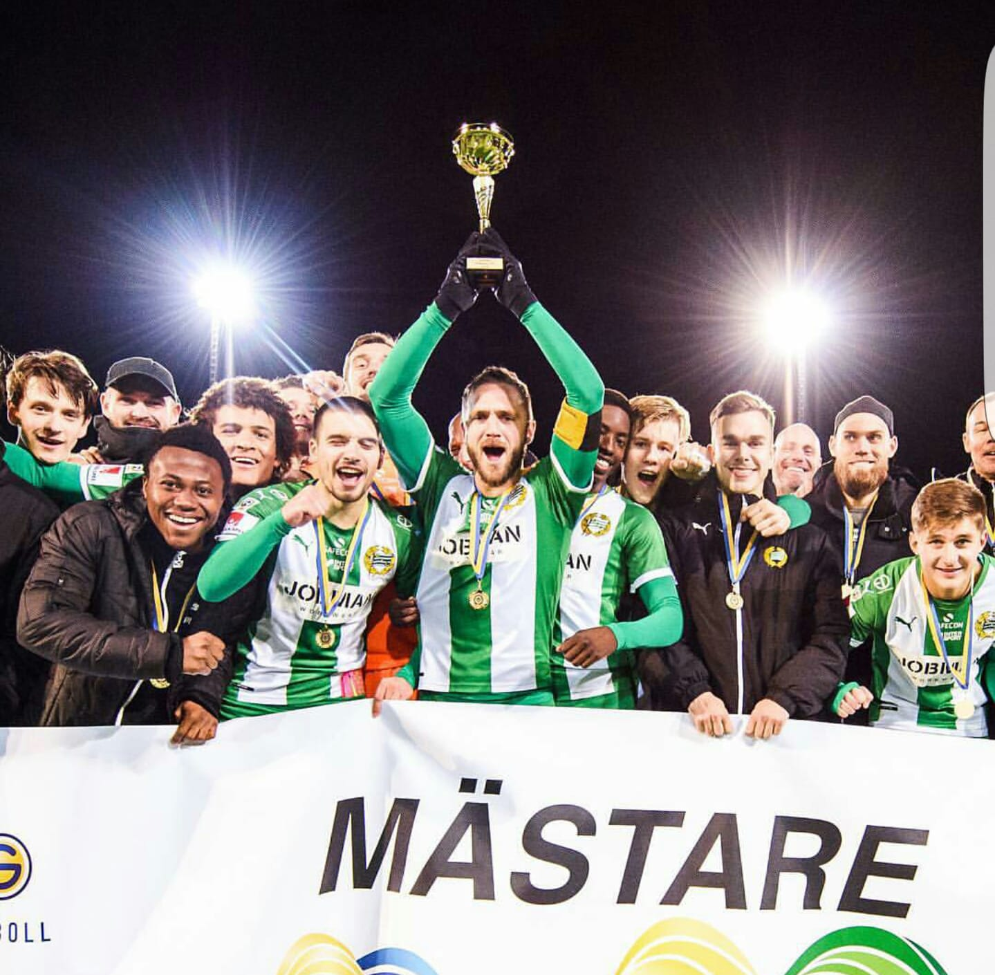 Abdul Halik wins Swedish U21 League with Hammarby