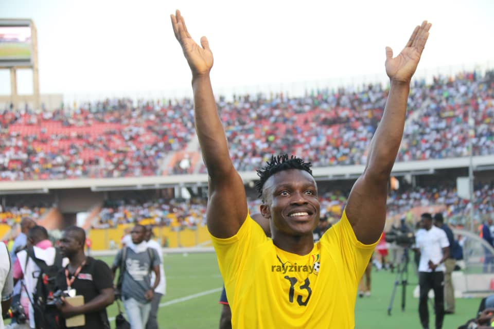 Aidoo thankful to coaches and sundry for Black Stars debut