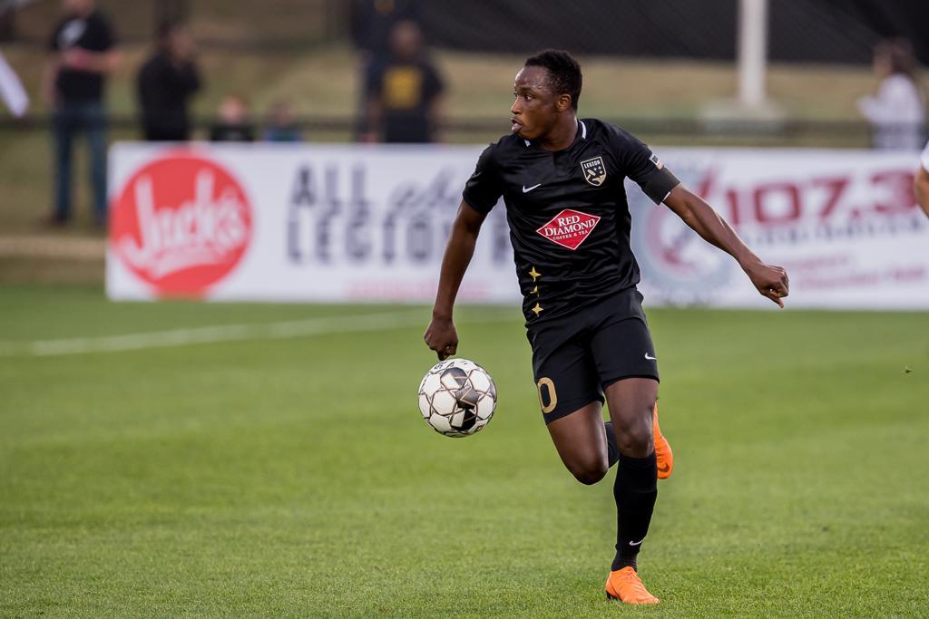 Prosper Kasim scores first goal in Birmingham Legion