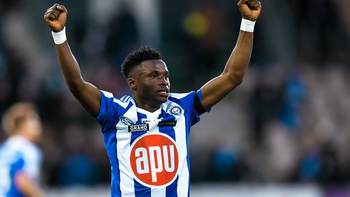 Evans Mensah Scores Twice To Power HJK Helsinki To Victory In Finnish League Opener