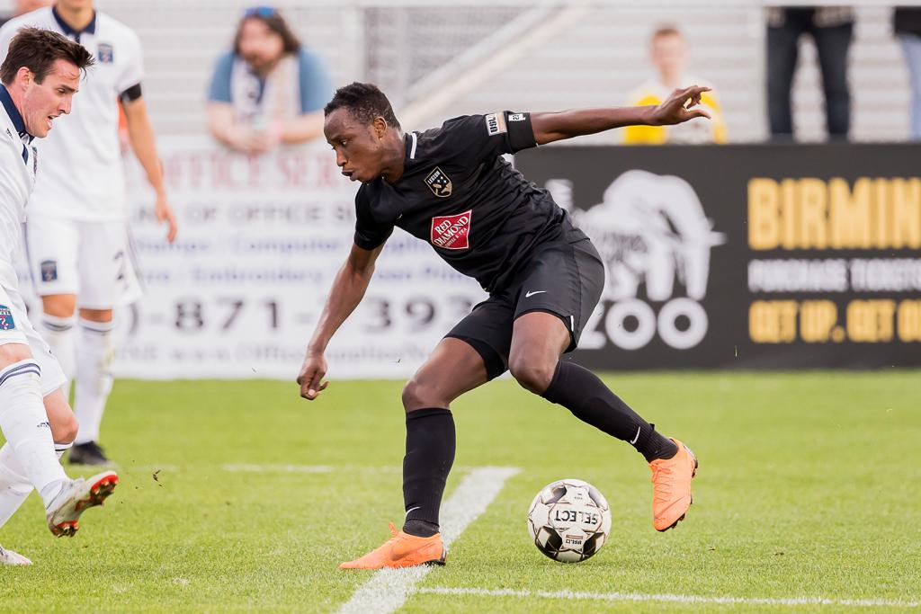 Prosper Kasim features in Birmingham Legion's USL win