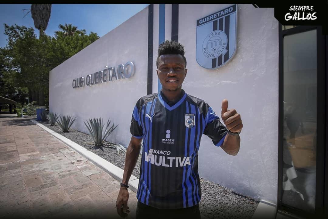 Clifford Aboagye joins Gallos de Querétaro from Atlas FC