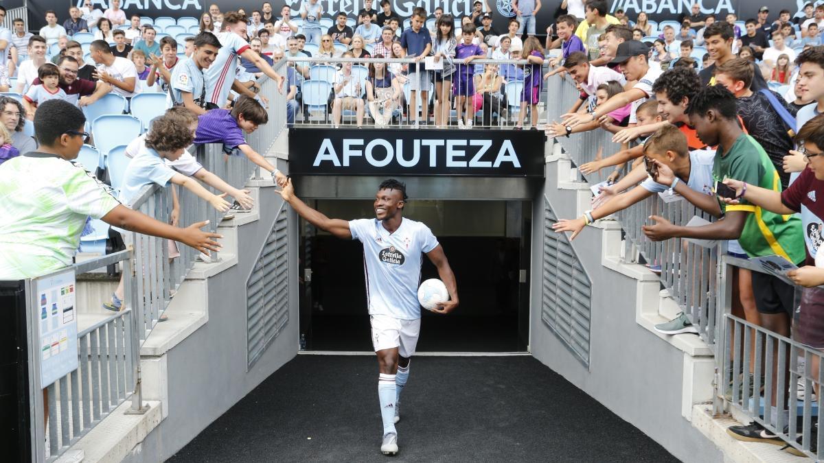 Inter Allies congratulates Joseph Aidoo Celta Vigo move