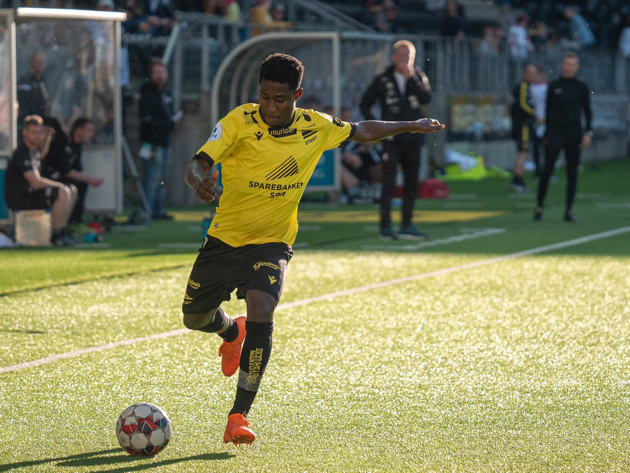 NORWAY – Isaac Twum plays full time in Starts defeat