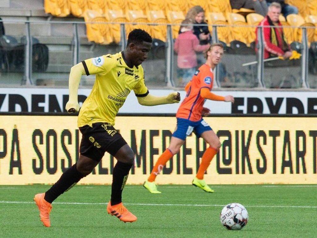 NORWAY - Twum registers assist in IK Start win