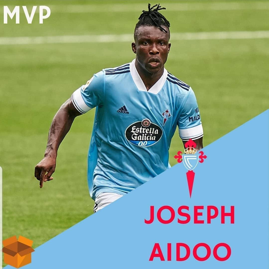 Aidoo named MVP in Celta Vigo's La Liga Opener