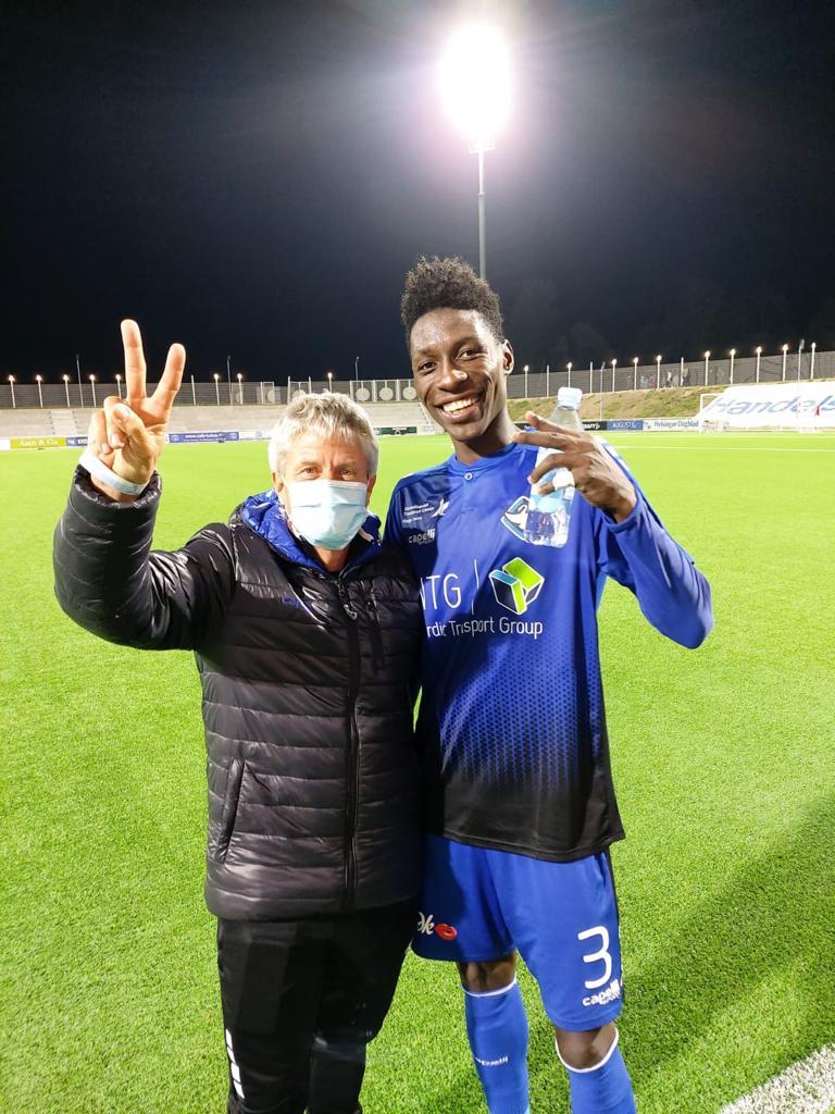 Henrik Lehm reunites with Frank Assinki in Demark