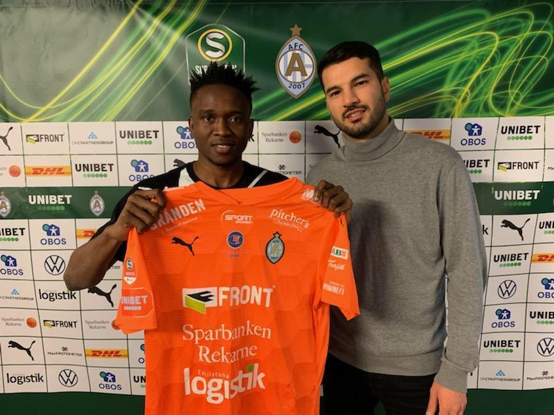 Lawson Sabah joins AFC Eskilstuna