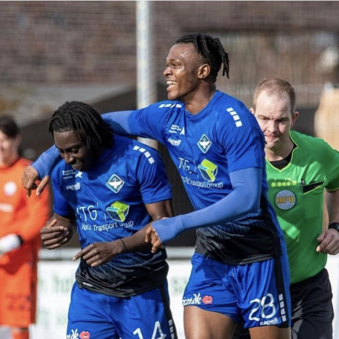 DENMARK - Effiong Nsungusi Jnr scores as Koge win