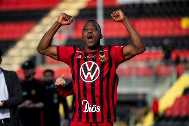 SWEDEN - Patrick Kpozo nets first goal of the season in Ostersunds home win