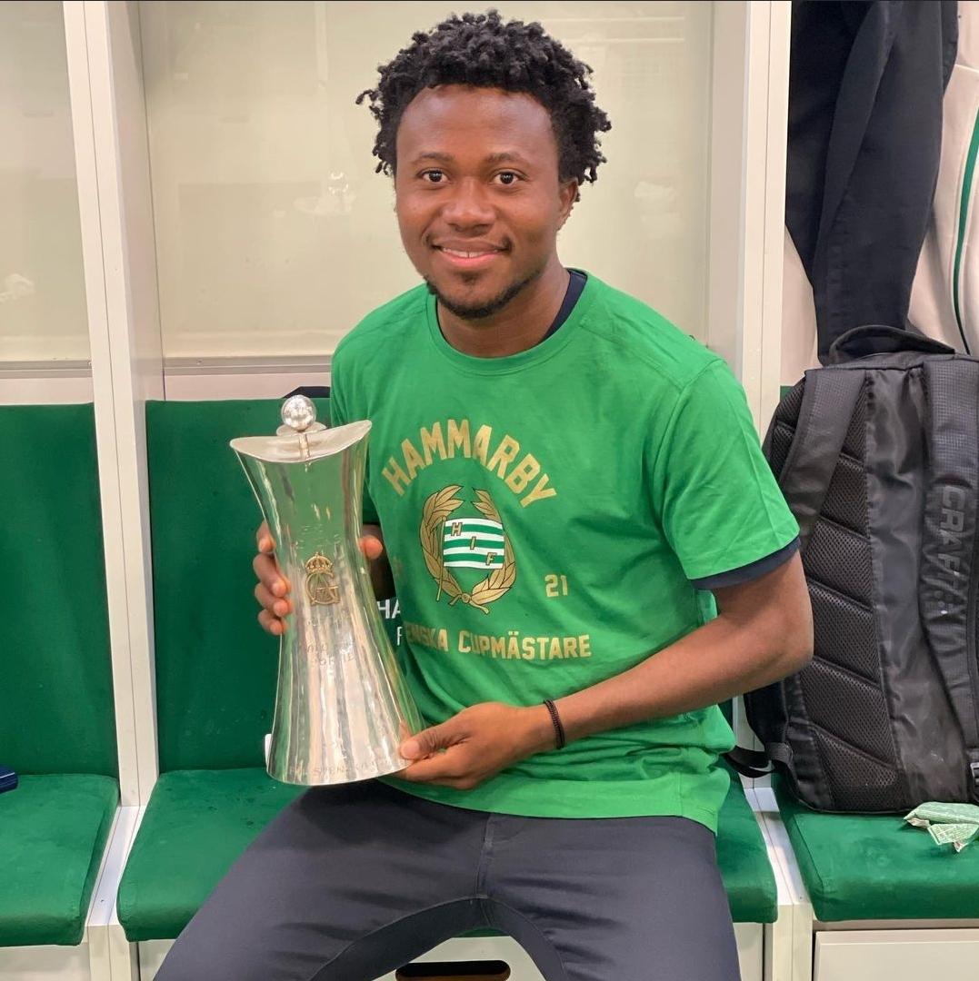 Abdul Halik Hudu wins Swedish Cup with Hammarby