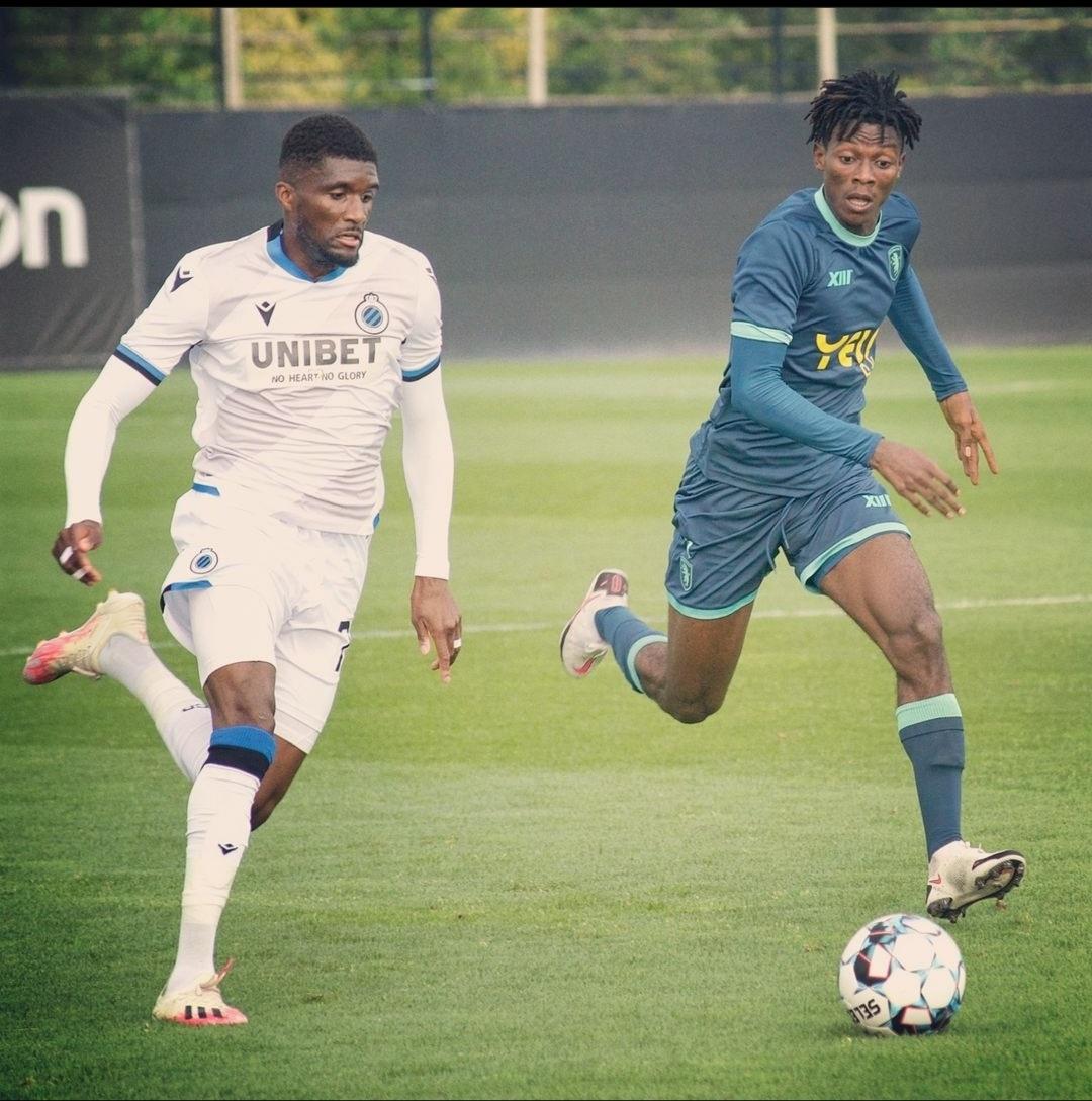 Preseason - Belgium - Abraham Okyere debuts in Beerschot friendly